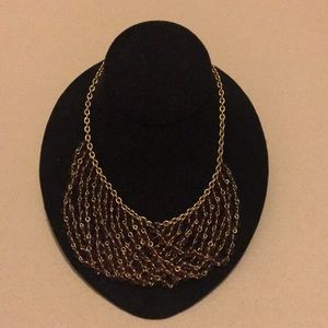 Beautiful beaded designer Tommy Hilfiger necklace